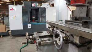 HAAS machining centre