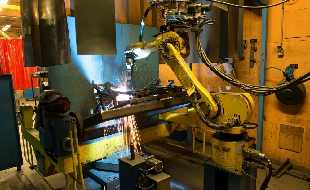 Robotic welding MAG