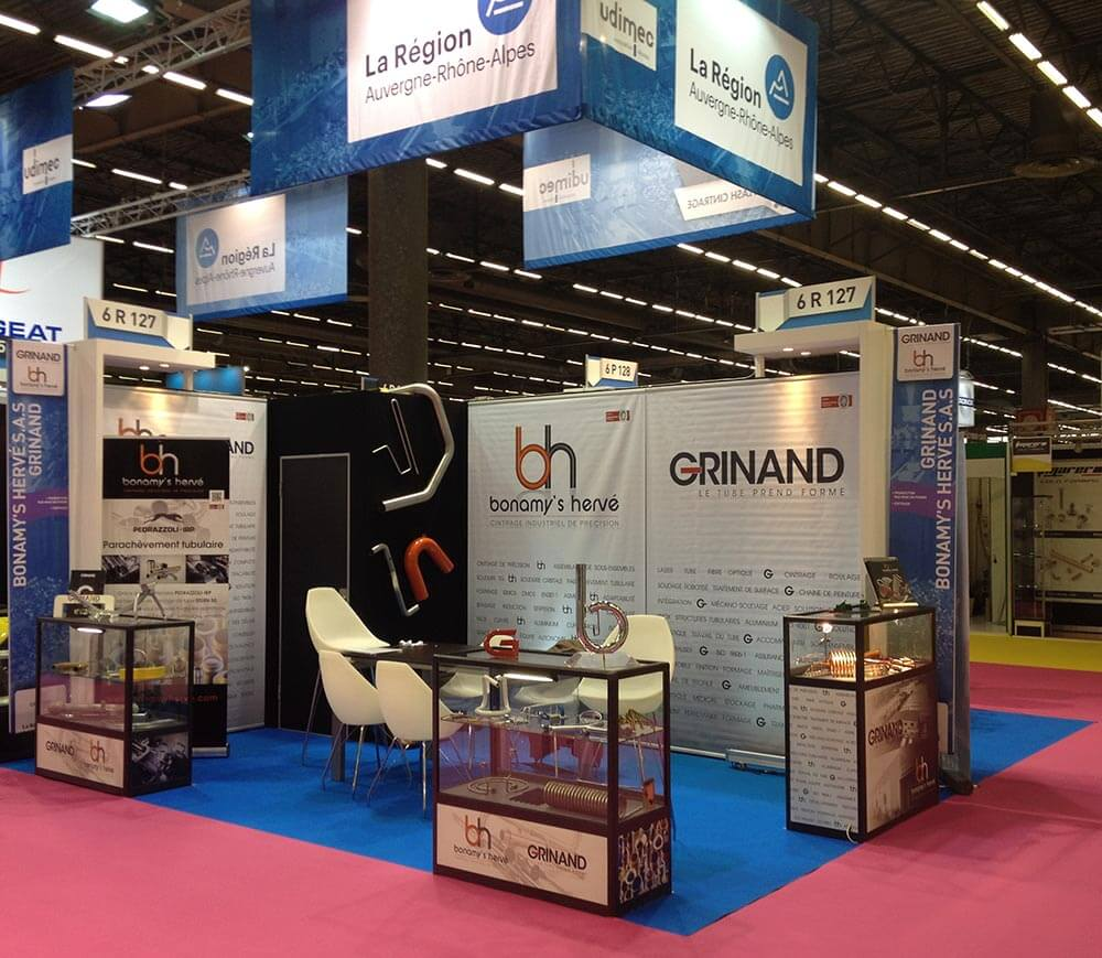 Grinand au salon midest 2016