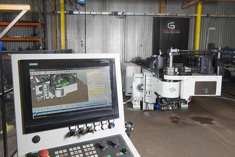 Cutting, bending, tube forming - Grinand